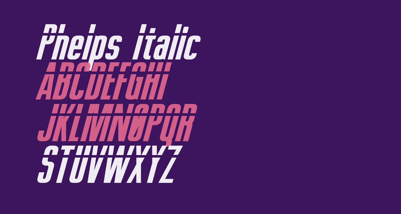 Phelps Italic
