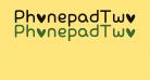 PhonepadTwo Regular