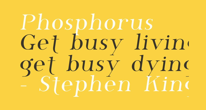 Phosphorus