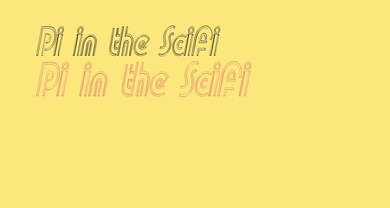 Pi in the SciFi