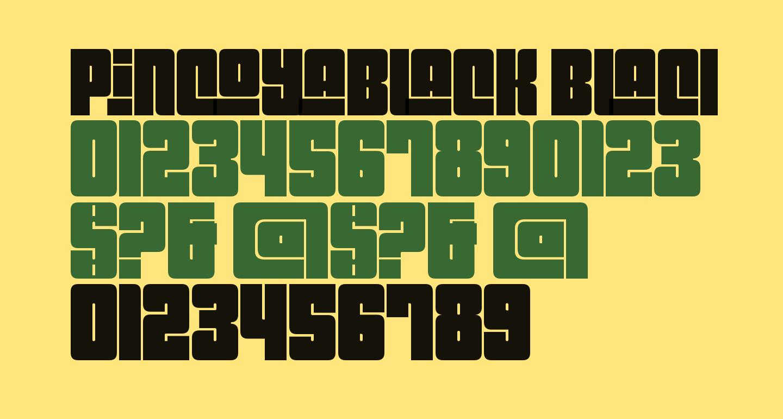 Pincoyablack Black