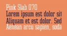 Pink Slab 070
