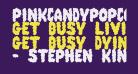 PinkCandyPopcornFont