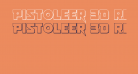 Pistoleer 3D Regular
