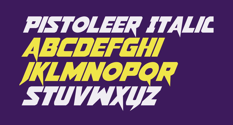 Pistoleer Italic