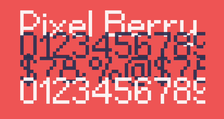 Pixel Berry 08/84 Ltd.Edition