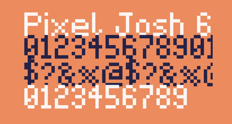 Pixel Josh 6