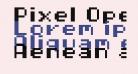 Pixel Operator HB 8