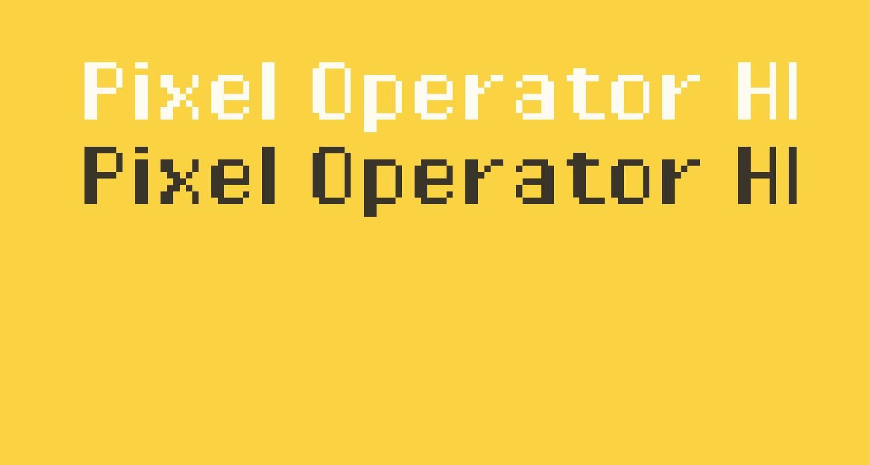 Pixel Operator HB
