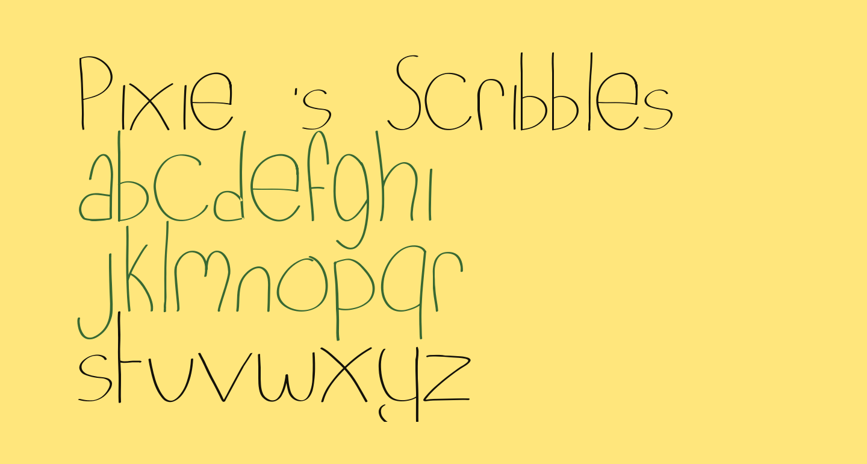 Pixie's Scribbles
