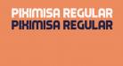 Piximisa Regular