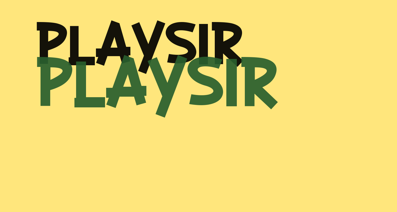 PLAYSIR