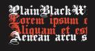 PlainBlackWide Normal