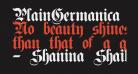 PlainGermanica