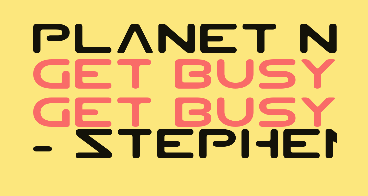 Planet NS Expanded
