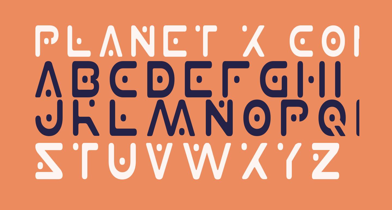 Planet X Condensed