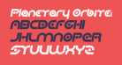 Planetary Orbiter Bold Italic