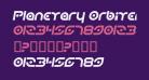 Planetary Orbiter Italic