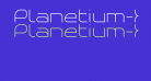 Planetium-X Light Demo
