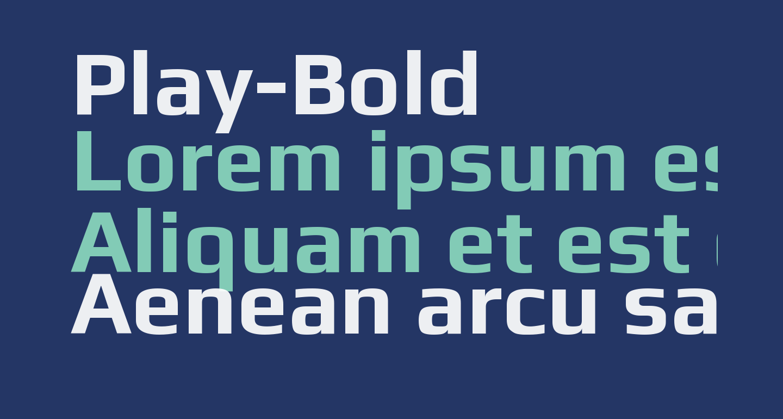 Play-Bold