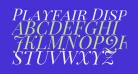 Playfair Display SC Italic
