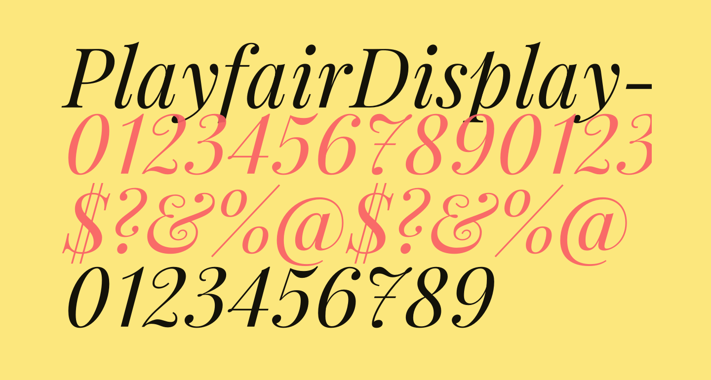 PlayfairDisplay-Italic