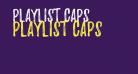 Playlist-Caps