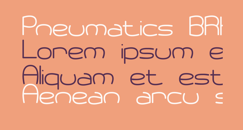 Pneumatics BRK