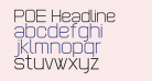POE Headline