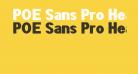 POE Sans Pro Heavy