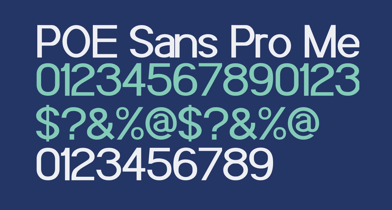POE Sans Pro Medium
