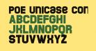 POE Unicase Condensed
