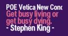 POE Vetica New Condensed Bold