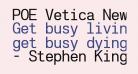 POE Vetica New Mono