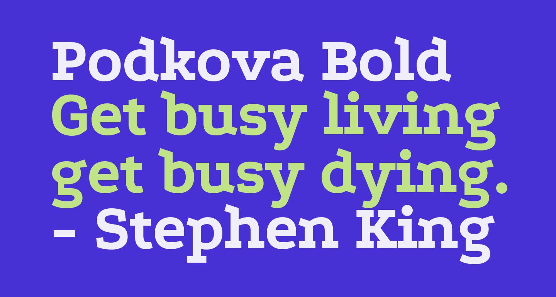 Podkova Bold