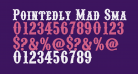 Pointedly Mad SmallCaps
