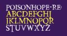 PoisonHope-Regular