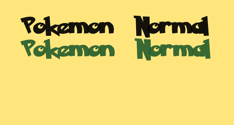 Pokemon  Normal