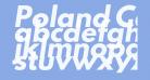 Poland Can Into Big Writings Italic