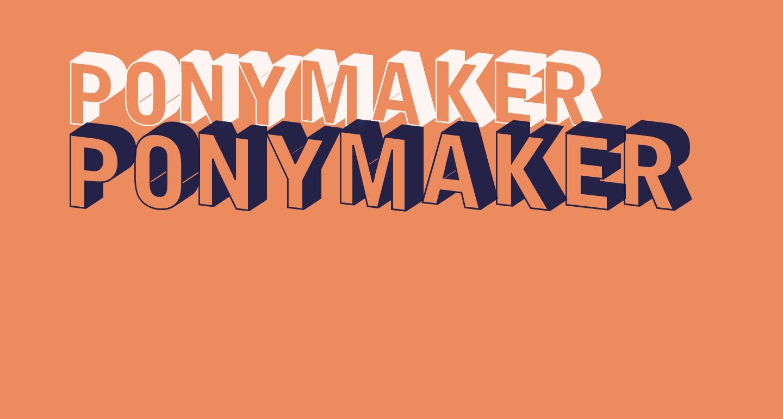 PonyMaker