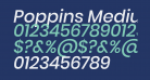 Poppins Medium Italic