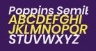 Poppins SemiBold Italic