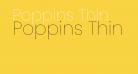 Poppins Thin