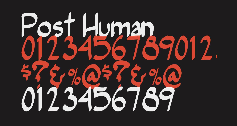 Post Human
