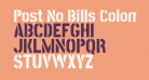 Post No Bills Colombo ExtraBold