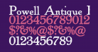 Powell Antique Bold