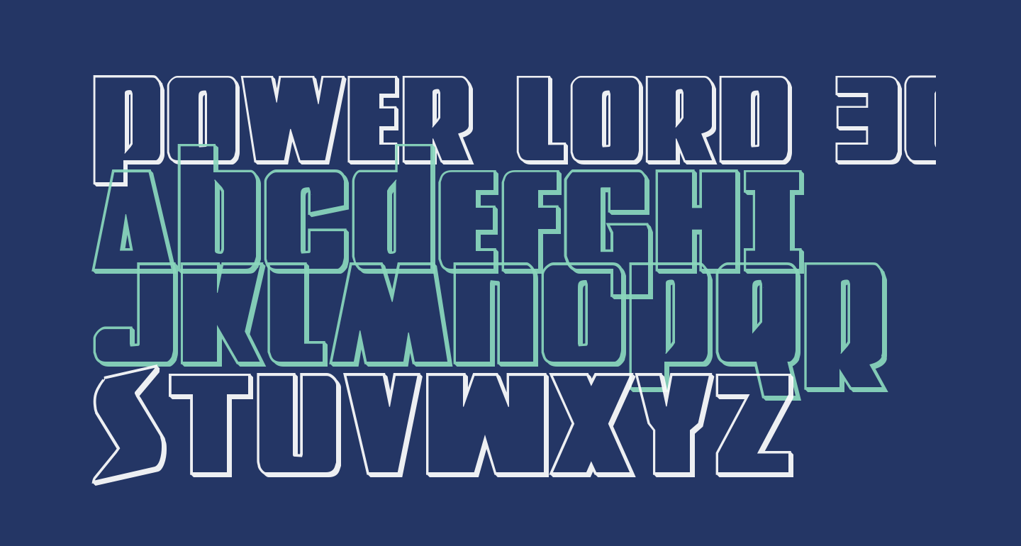 Power Lord 3D Regular
