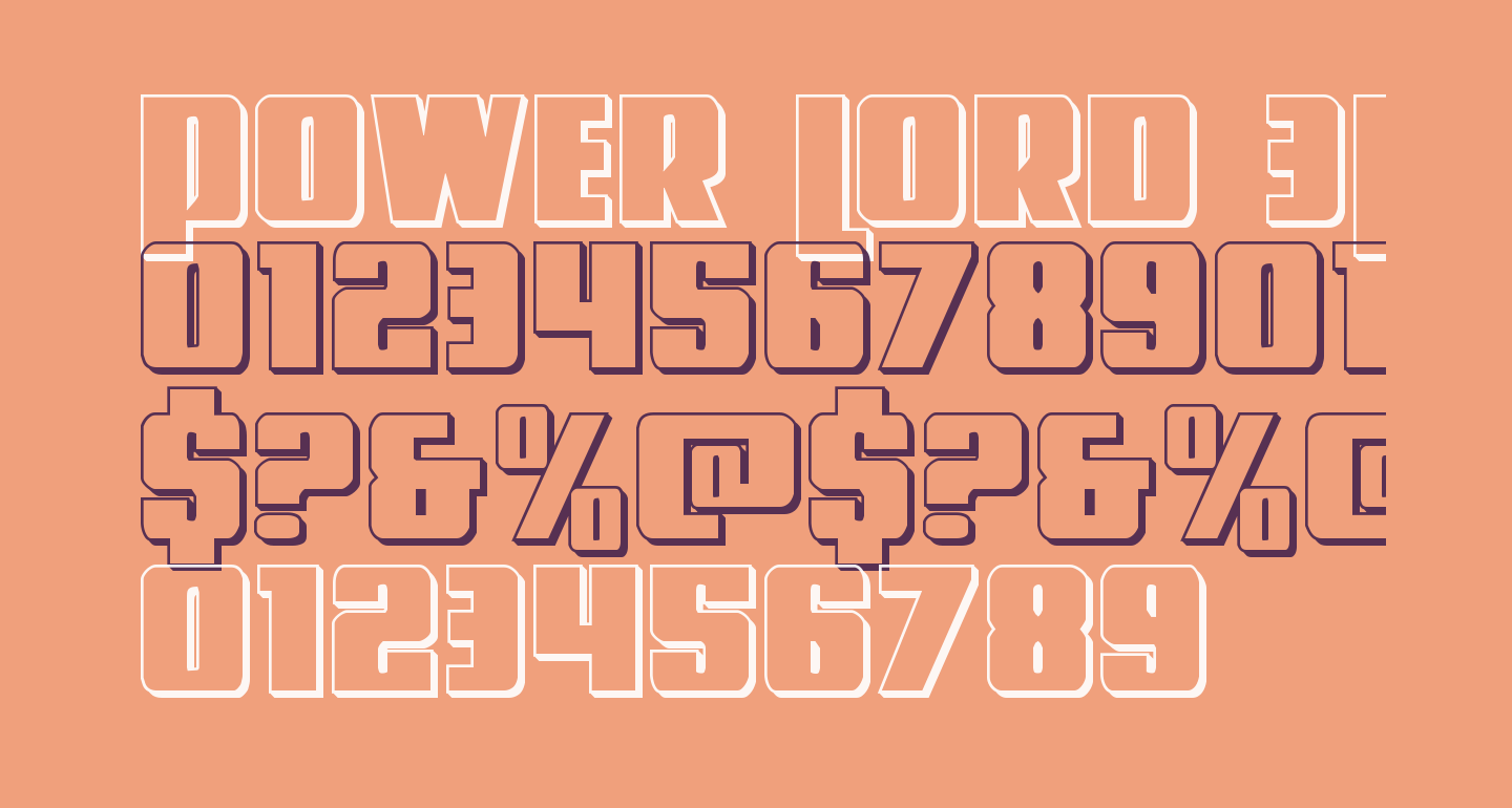 Power Lord 3D