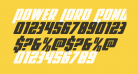 Power Lord Condensed Italic