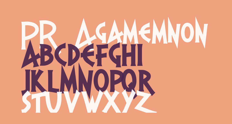 PR Agamemnon  Bold, Top Lining